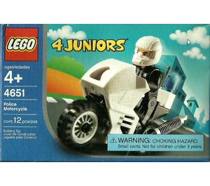 LEGO Police Motorcycle Set 4651 Packaging
