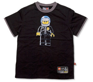 LEGO Police Officer Minifigure T-shirt (852204)