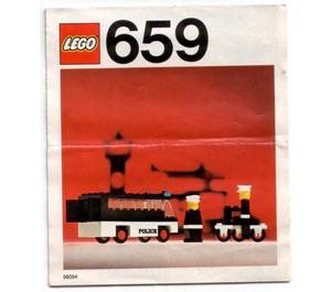 LEGO Police Patrol Set 659-1 Instructions