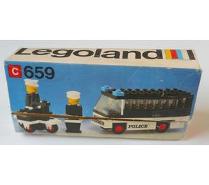 LEGO Police Patrol Set 659-1 Packaging