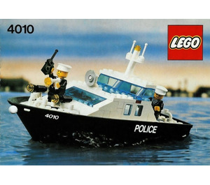 LEGO Police Rescue Boat Set 4010