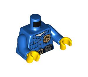 LEGO Policeman Torso with Golden Badge (973 / 76382)