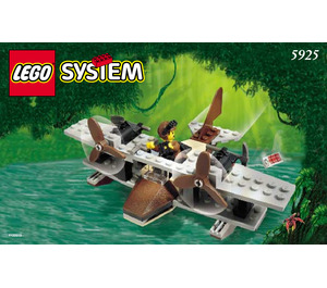 LEGO Pontoon Plane Set 5925 Instructions