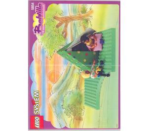 LEGO Pony Trekking Set 5854 Instructions