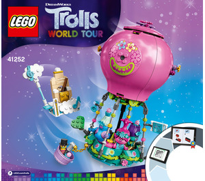 LEGO Poppy's Air Balloon Adventure Set 41252 Instructions