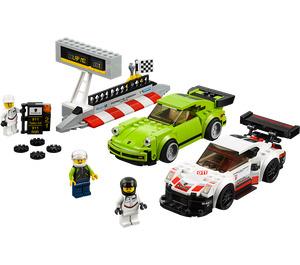 LEGO Porsche 911 RSR and 911 Turbo 3.0 Set 75888
