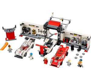 LEGO Porsche 919 Hybrid and 917K Pit Lane Set 75876