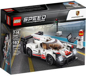 LEGO Porsche 919 Hybrid Set 75887 Packaging