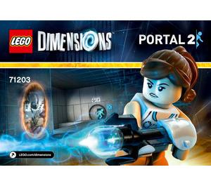 LEGO Portal 2 Level Pack Set 71203 Instructions