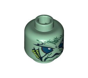 LEGO Portal Emperor Head (Safety Stud) (3626 / 90895)