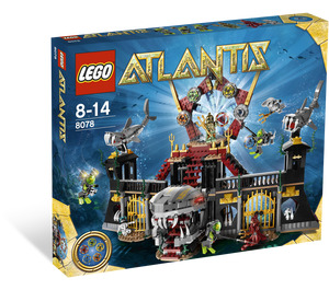LEGO Portal of Atlantis Set 8078 Packaging