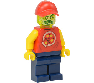LEGO Possessed Pizza Delivery Man Minifigure