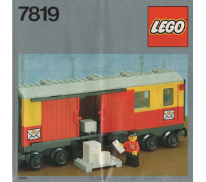 LEGO Postal Container Wagon Set 7819