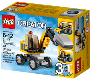 LEGO Power Digger Set 31014 Packaging
