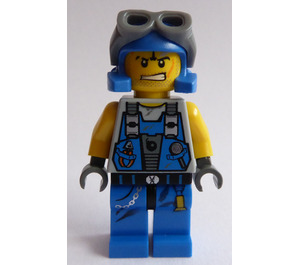LEGO Power Miner Rex Minifigure