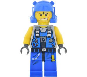 LEGO Power Miners Rex Minifigure