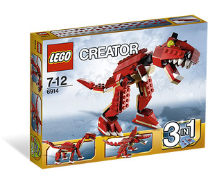 LEGO Prehistoric Hunters Set 6914 Packaging