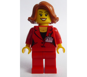 LEGO Press Woman/Reporter Minifigure