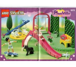 LEGO Pretty Playland Set 5870 Instructions
