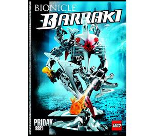 LEGO Pridak Set 8921 Instructions