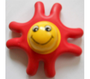 LEGO Primo Animal Starfish with 8 Arms, Yellow Center and Face
