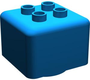 LEGO Primo Brick 1 x 1 with 4 Duplo Studs (31007)