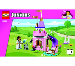 LEGO Princess Play Castle Set 10668 Instructions