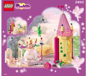 LEGO Princess Rosaline's Room Set 5805 Instructions
