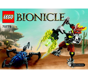 LEGO Protector of Stone Set 70779 Instructions