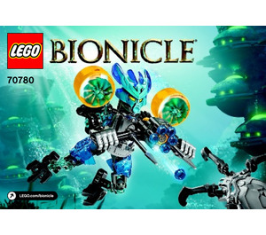 LEGO Protector of Water Set 70780 Instructions