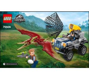 LEGO Pteranodon Chase Set 75926 Instructions