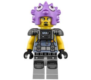 LEGO Puffer Army Thug Minifigure