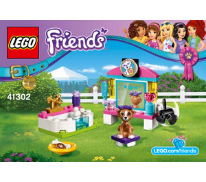 LEGO Puppy Pampering Set 41302 Instructions