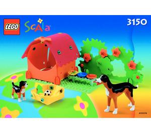 LEGO Puppy Playground Set 3150 Instructions