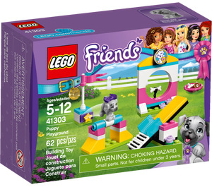 LEGO Puppy Playground Set 41303 Packaging