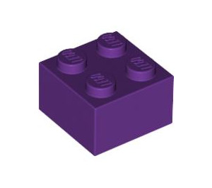 LEGO Purple Brick 2 x 2 (3003)