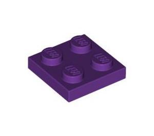 LEGO Purple Plate 2 x 2 (3022)