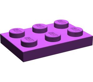 LEGO Purple Plate 2 x 3 (3021)