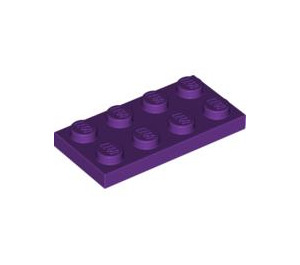 LEGO Purple Plate 2 x 4 (3020)