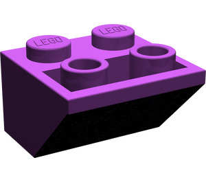 LEGO Purple Slope 2 x 2 (45°) Inverted (3660)