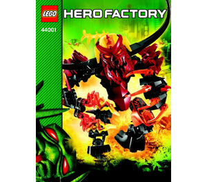 LEGO PYROX Set 44001 Instructions