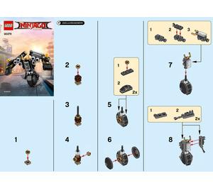 LEGO Quake Mech Set 30379 Instructions