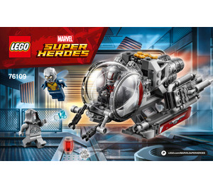 LEGO Quantum Realm Explorers Set 76109 Instructions