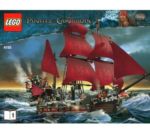LEGO Queen Anne's Revenge Set 4195 Instructions