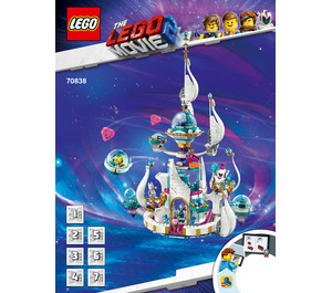 LEGO Queen Watevra's 'So-Not-Evil' Space Palace Set 70838 Instructions