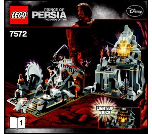LEGO Quest Against Time Set 7572 Instructions