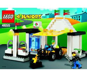 LEGO Quick Fix Station Set 4655 Instructions