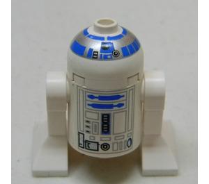 LEGO R2-D2 Minifigur mit weißem Kopf