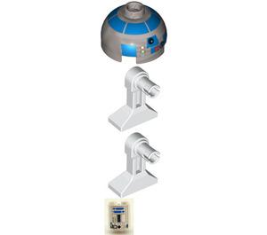 LEGO R2-D2 avec Plat Silver Diriger Figurine