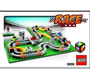LEGO Race 3000 (3839) Instructions